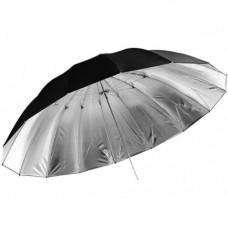 Параболический фото зонт Jinbei AU 100CM Black/Silver Umbrella